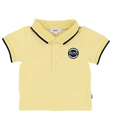 6aacdc25f Image Unavailable. Image not available for. Color: Hugo Boss Kids Boys  Short Sleeve Polo Shirt ...