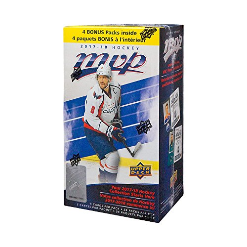 2017-18 Upper Deck MVP Hockey 24ct Blaster Box (Hockey Cards Mvp)