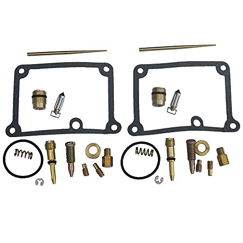 KIPA Carb Carburetor Rebuild Kit For YAMAHA Banshee 350 YFZ350 YFZ350SE YFZ350LE YFZ 350 ATV Quad 1988-2006