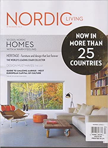 Zeitschrift Living And More nordic living magazine issue 3 2016 various amazon com books