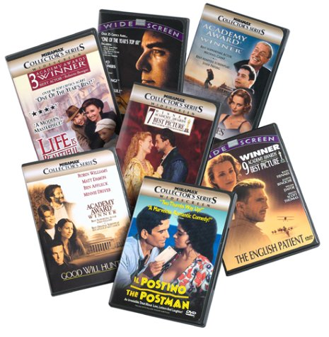 Miramax Award Winners Collection (Shakespeare in Love/The English Patient/Good Will Hunting/Sling Blade/The Cider House Rules/Life is Beautiful/Il Postino) - Amazon.com Exclusive