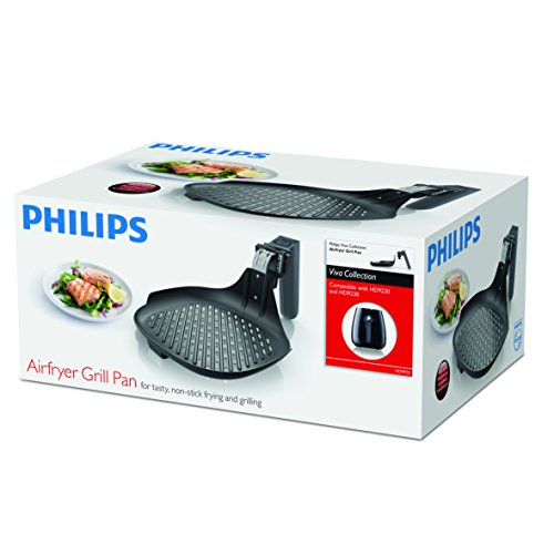 Philips HD9910/21 Airfryer Non-Stick Grill Pan Accessory for Compact, Starfish model Airfryers by Philips (Image #2)