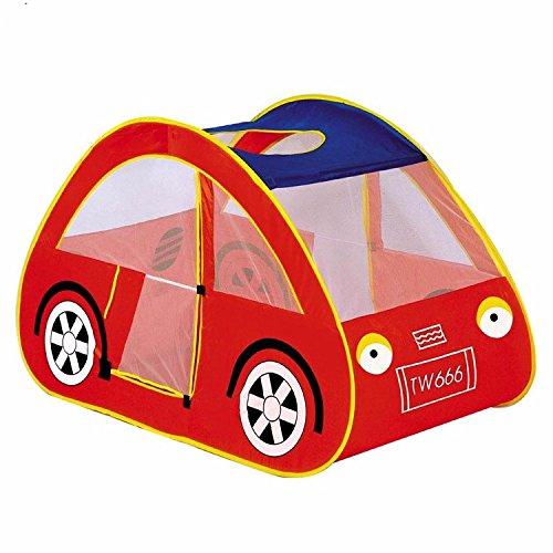 ZHUDJ Kinder Zelt Rotes Auto Spiel-/Kinder, Das Auto