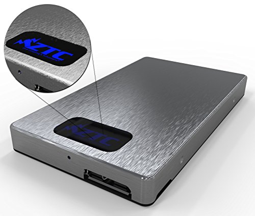 ZTC Sky Board mSATA to USB 3.0 SSD Enclosure Adapter Case. High Speed 6Gb/s Support UASP. Silver Model ZTC-EN00-S