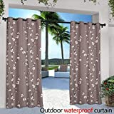 berrly Outdoor Blackout Curtains,ct computed tomography Scanner in Hospital Laboratory,W72 x L96 Thermal