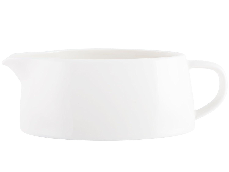 M By Mikasa Porcelain Gravy Boat, 18.5 x 9.5 cm (7
