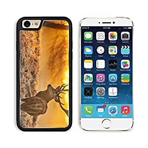 Deer Sunset Sunrise Forest Punktail's Collections iPhone 6 Cover Premium Aluminium Design TPU Case Open Ports