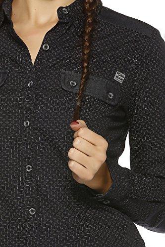 Kaporal Camisa Negro Jeans Midie Jeans Kaporal Camisa 4qrw4