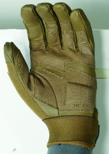 Voodoo Leather - VooDoo Tactical 20-9079007093 Intruder Gloves, Coyote, Medium