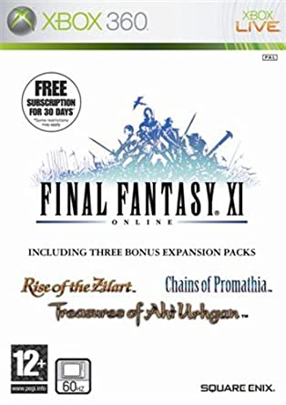 Final Fantasy XI (Xbox 360): Amazon co uk: PC & Video Games