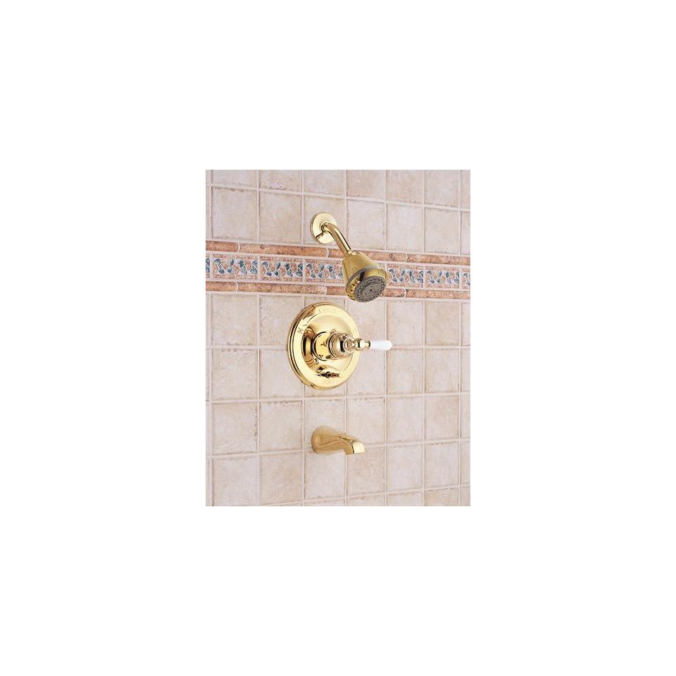 1438PB 712PB Single Handle Tub and Shower Faucet