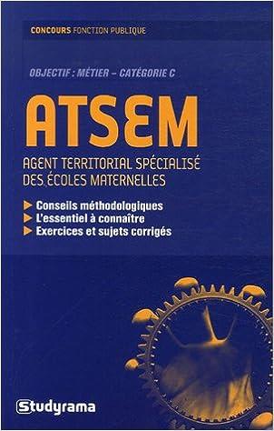 Lire des livres à télécharger gratuitement en ligne ATSEM : Agent territorial spécialisé des écoles maternelles by Didier Durchon,Cyriaque Khider 2844728529 PDF