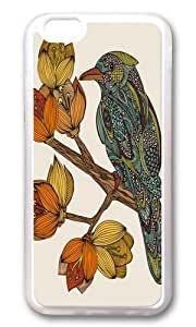 Apple Iphone 6 Case,WENJORS Adorable Bravebird Soft Case Protective Shell Cell Phone Cover For Apple Iphone 6 (4.7 Inch) - TPU Transparent
