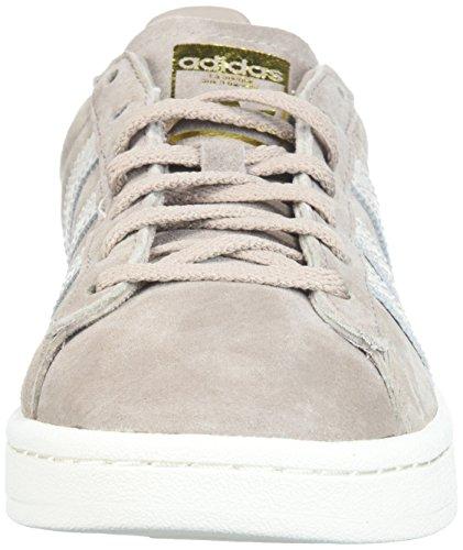 White Talla Zapatos Vapour Correr amp; Medios pearl Adidas Greywhite Cordon Bajos Mujeres chalk Para Campus Grey zBvqZY