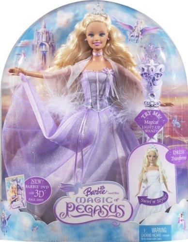 Astounding Barbie And The Magic Of Pegasus Princess Amazon Co Uk Toys Games Short Hairstyles For Black Women Fulllsitofus
