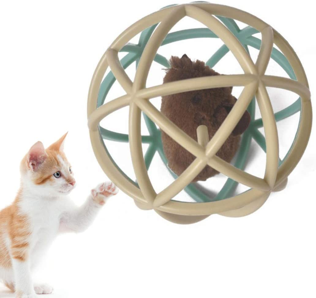 Legendog Juguete De Bola De Gato Ratones Encantadores Juguete De Gatito Juego De Pelota De Gato Juguete Interactivo De Gato: Amazon.es: Productos para mascotas