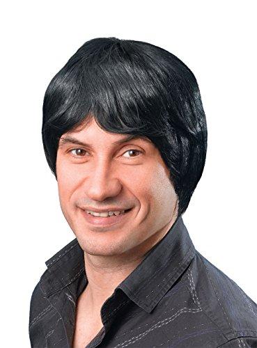 - Bristol Novelty BW068 Male Wig Short, Black, One Size