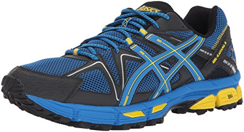 ASICS Men's Gel-Kahana 8 Running-Shoes, Directoire Blue/Vibrant Yellow/Black, 10.5 Medium US
