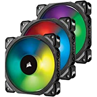 3-Pack Corsair ML120 PRO Premium Magnetic Levitation LED PWM Fan