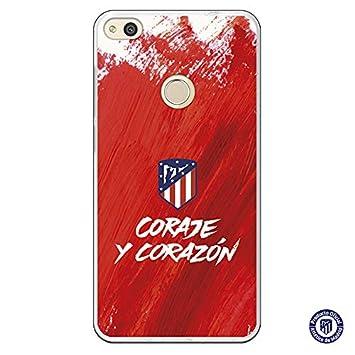 Atlético de Madrid Carcasa Coraje y Corazón para Huawei P8 ...