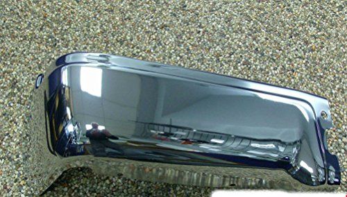- 09 thru 14 Ford F-150 OEM Genuine Ford Rear Chrome Step Bumper wo Prox LH Driver