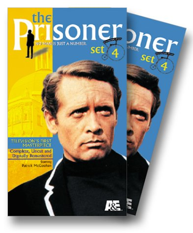 The Prisoner - Set 4: A Change of Mind/Hammer Into Anvil/Do Not Foresake Me Oh My Darling/Living in Harmony (Bonus) [VHS]