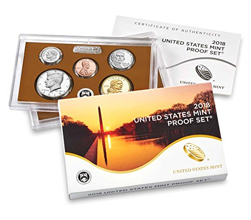 2018 S Proof Set Mint Packaged (2018 Coin Proof Set)