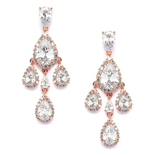 Mariell Petite Clip Chandelier Earrings product image