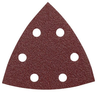 Bosch SDTR120 3-3/4 In. 120 5-Piece Grit Detail Sander Abrasive Triangles for Wood (Bosch Corner)