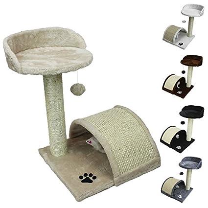 Beauty Pet ® Árbol para gato 50 cm modelo Ronron - cinco colores - Norma CE