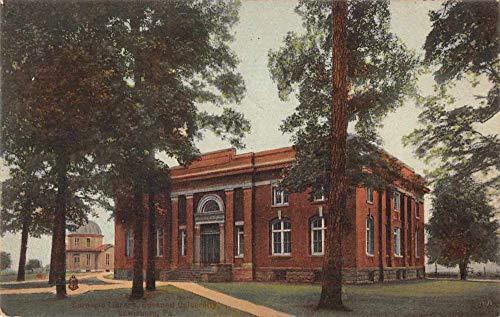 Lewisburg Pennsylvania Bucknell University Carnegie Library Postcard JC932193