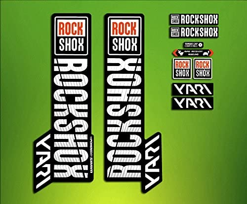 ELXSTICKRES Stickers Stickers Fork Rock Shox Yari 2018/elx71/Fork Aufkleber Decals MTB ADESIVI forcela