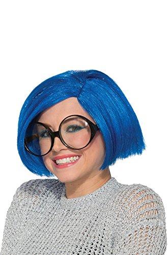 Forum Novelties Women's Wig-Blue Bobbi, Standard]()