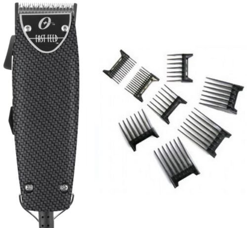 Fast Feed (Oster Professional Carbon Fiber Fast Feed Professional Clipper With Free 8-pc comb)