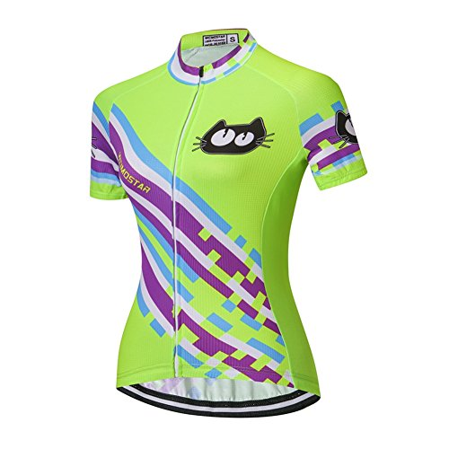 Weimostar Xinzechen Women Cycling Jersey Fast Drying Clothing Shirt Tops