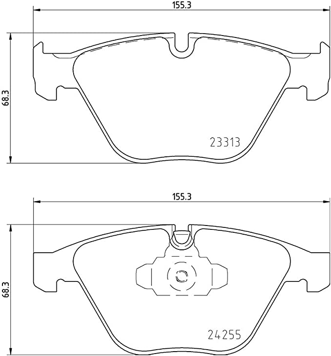 Mintex MDB2587 Bremsbelagsatz