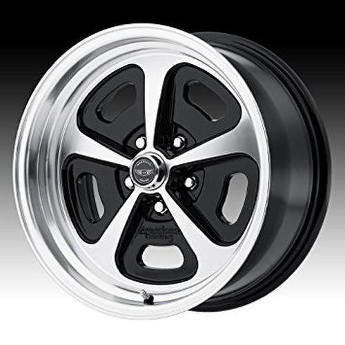 American Racing VN501 Gloss Black Wheel Machined Face (15x8