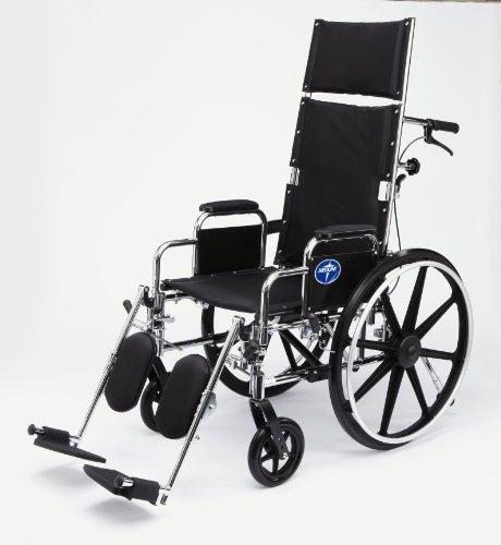 Medline Excel Reclining Wheelchair with DLA ELR
