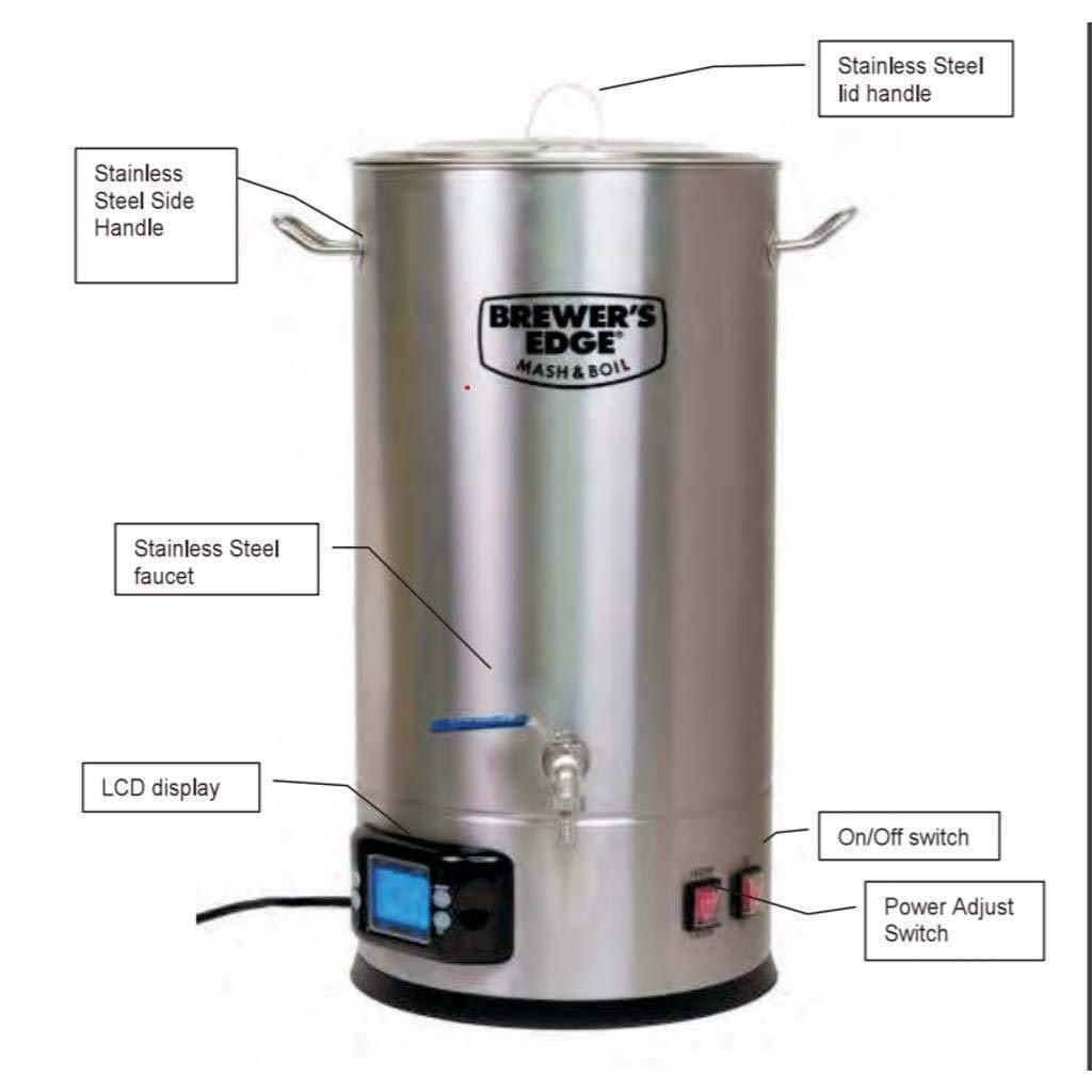 Brewers Edge Mash And Boil Electronics Diy Motorized Grain Mill Page 3 Home Brew Forums