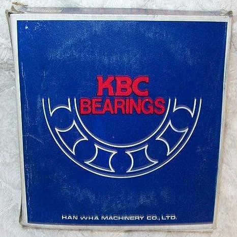 KBC Bearings Single Row Ball Bearing 6204DD NEW