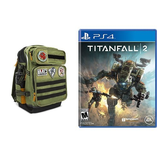 Titanfall 2 Officially Licensed OGIO Backpack + Game - PlayStation 4