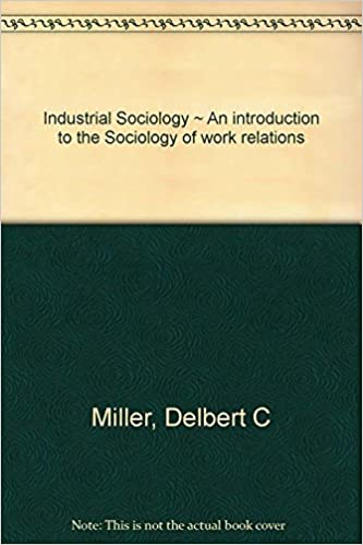 industrial sociology an introduction
