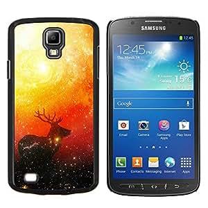 EJOOY---Cubierta de la caja de protección para la piel dura ** Samsung Galaxy S4 Active i9295 ** --Espacio ciervos