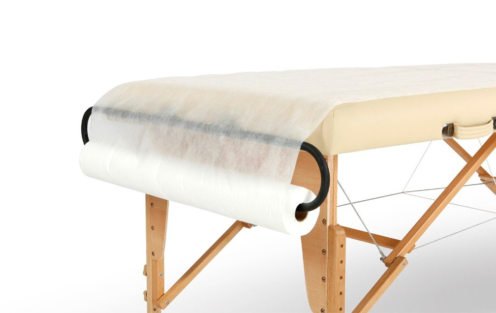 Non Woven Disposable Massage Table Sheets Roll 50PC Precut Greenlife Inc.