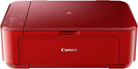 Canon Pixma MG3670 All in One Inkjet Wireless Printer  Red  Inkjet Printers