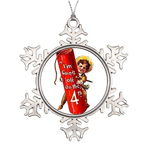 Firecracker Boy Joke 4th July Vintage Postcard Art Ideas for Decorating Christmas -