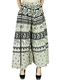 Indian Trousers Yoga Aladdin Pants Casual Hippie Harem Women Cotton Plazzo Baggy