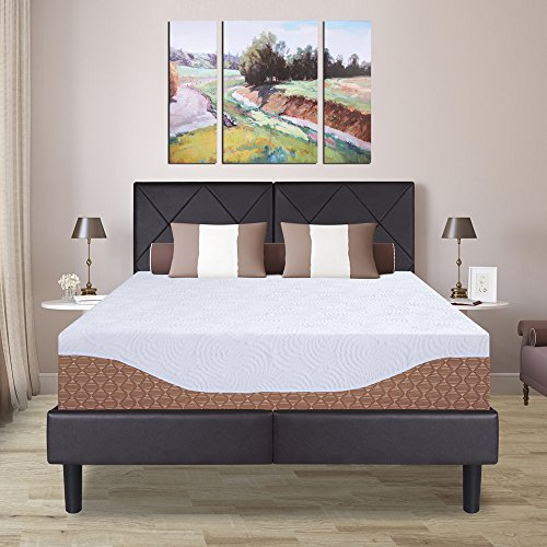 Olee Sleep 12 Multi-Layer I-Gel Infused Memory Foam Mattress