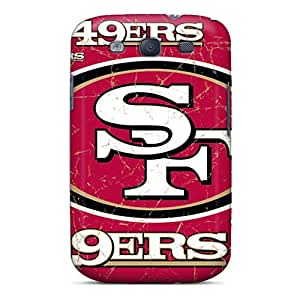 Durable San Francisco 49ers Back Cases/covers For Galaxy S3 Black Friday