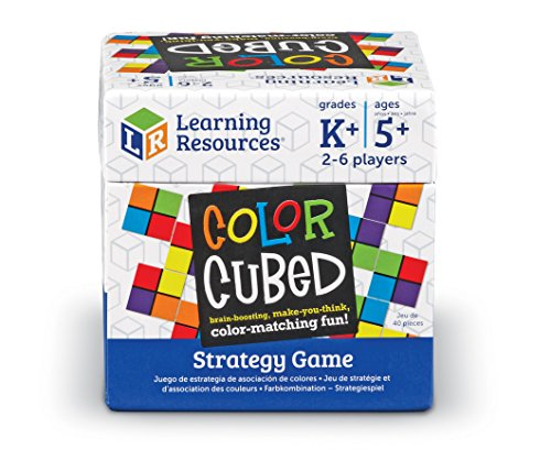 518YedzKrWL - Learning Resources Color Cubed Strategy Game